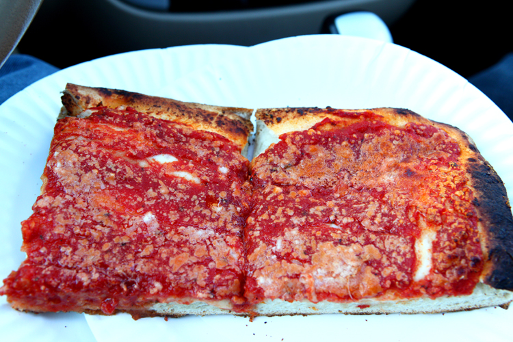 The Best Pizza in NYC L&B Spumoni Gardens