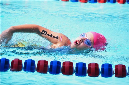 Alaska IronKids Triathlon Swimming