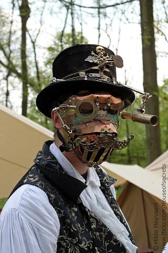 masked steampunk
