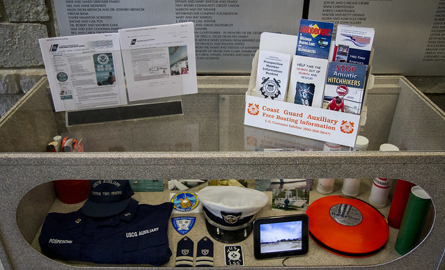 Coast Guard Auxiliary Display