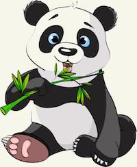 Unflod Baby Panda