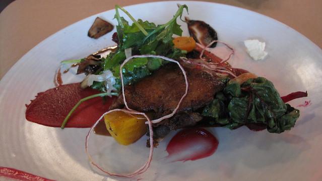 duck confit salad 1