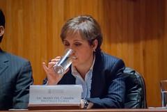 Carmen Aristegui recibe el galardón 'Corazón de León' ⑥