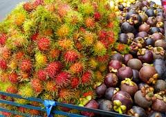 date palm(0.0), plant(0.0), rambutan(1.0), produce(1.0), fruit(1.0), food(1.0),