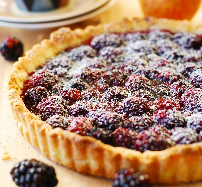 Blackberry tart recipe