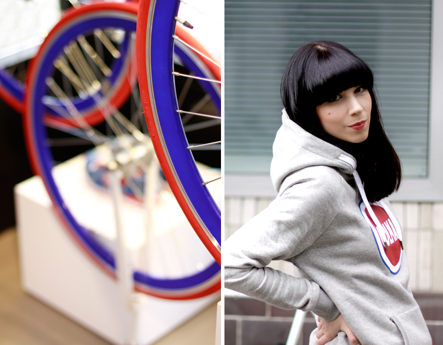 Colmar Originals Store Opening in Berlin Mitte 14.05.14 blogger Ricarda Schernus bike bicycle 1
