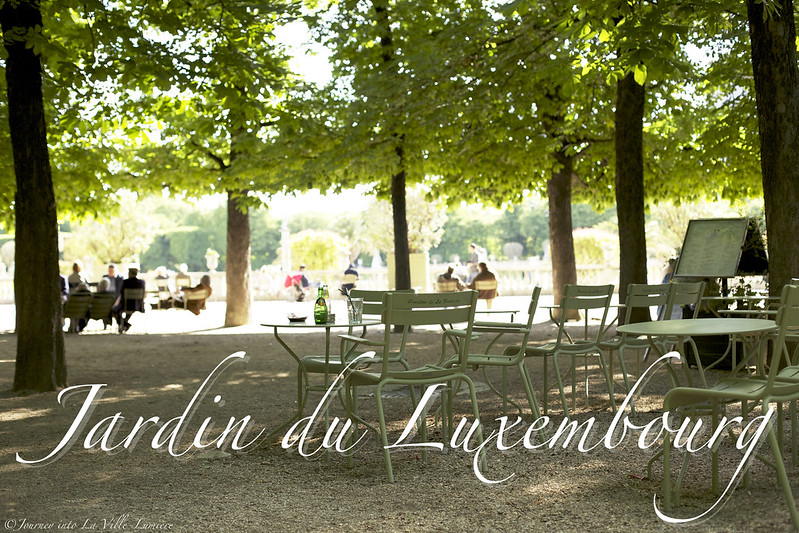 A little stroll journey into la ville lumi re for Piscine jardin du luxembourg