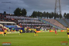 Steaua-FC Brasov, atmosfera 1