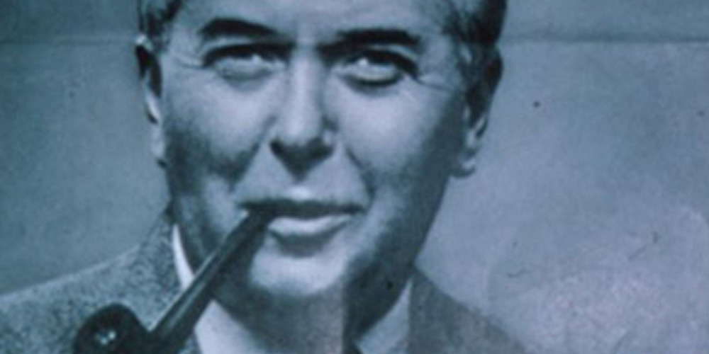 Photo of Harold Wilson cropped from a 1964 election poster