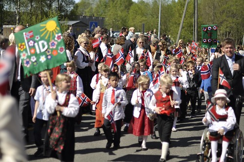 17 May Constitution Day in Fjellhammar