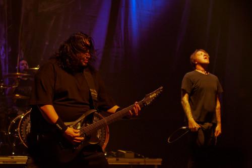 Fear Factory en Plateruena (Durango), el 17 de Noviembre de 2012