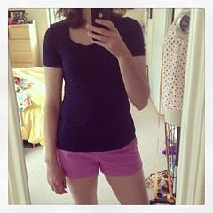 5/24 #mmmay14 nothing exciting, just a Renfrew and JCrew shorts. Got some pants fitting to do this afternoon