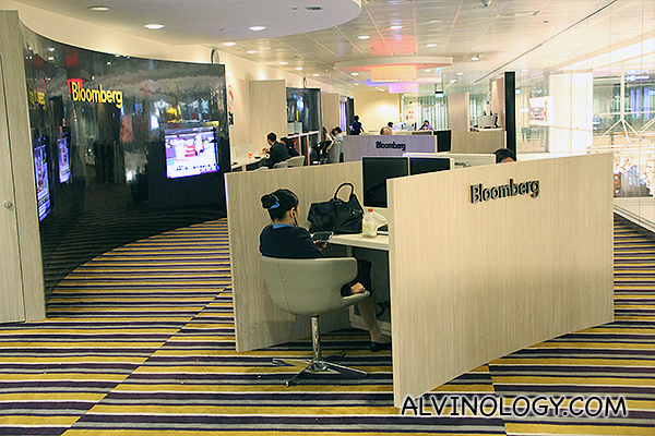Bloomberg workstations