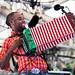 Cedric Watson and Bijou Creole at at Festival International de Louisiane, April 27, 2014