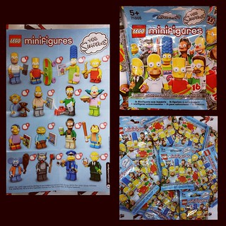 The Simpsons Lego minifigures... #geekshavethemostfun #newpoison