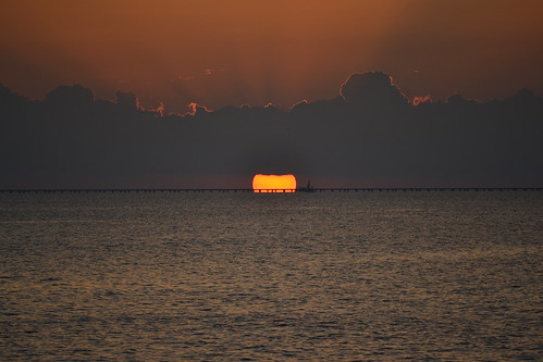 008 Lake Pontchartrain Sunset