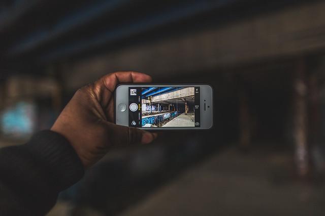Through my Iphone
