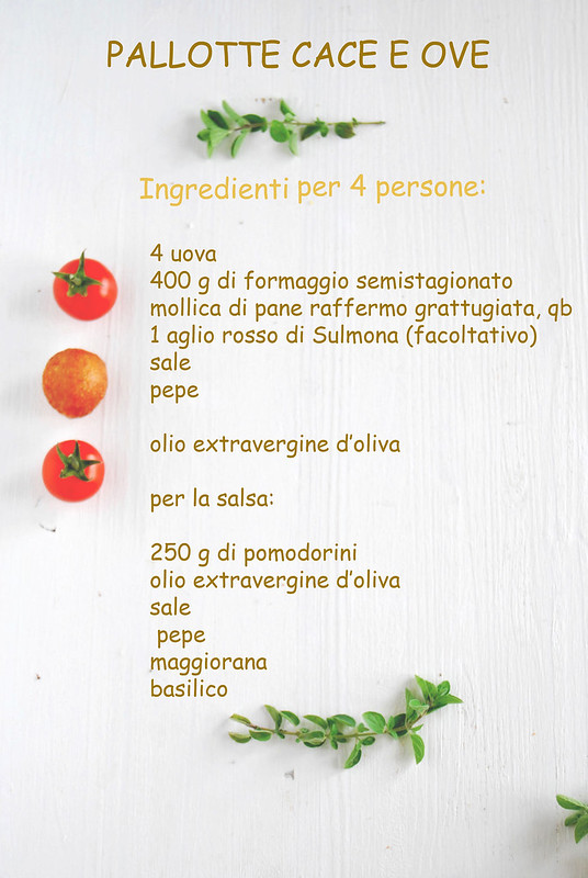 Pallotte ingredienti