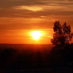 Sunset on the way home from Hemet! #LovingInlandia