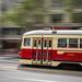 Classic Streetcar # 1009, San Francisco by David A. Barnes