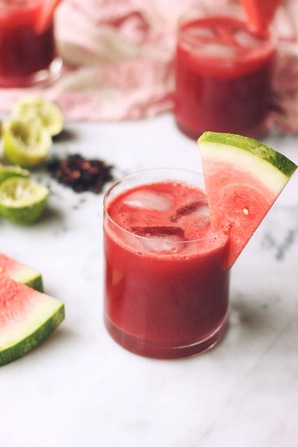 Watermelon Hibiscus Lime Cooler