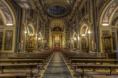 madrid church landscape lights spain nikon europe cathedral hdr