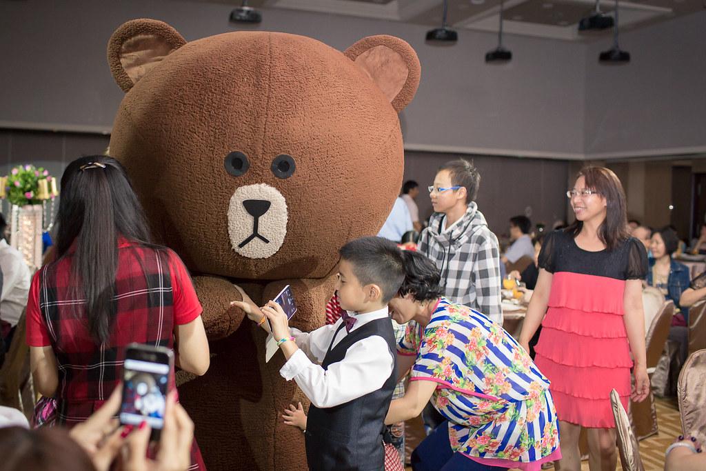 福華飯店,婚禮道具,婚禮主持,主持人推薦,台北婚禮,LINE,熊大,幸福熊