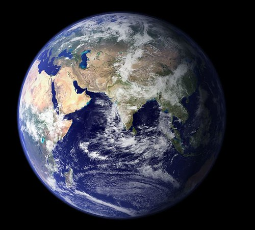 Earth Photo by NASA and Wikipedia