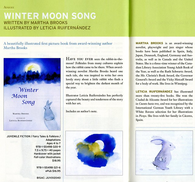 Groundwood Winter moon song