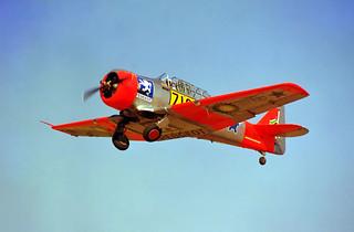Harvard IIA ZU-BEU (Ex SAAF 7188)