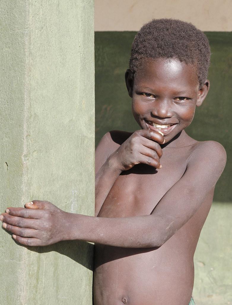 Child in Puranga, northern Uganda, 2013