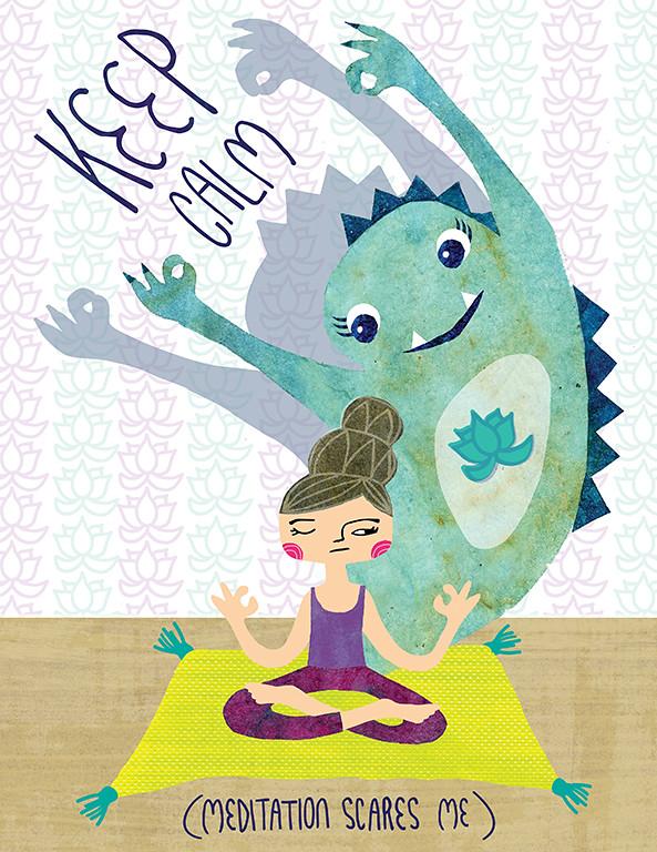 Meditation Scares Me