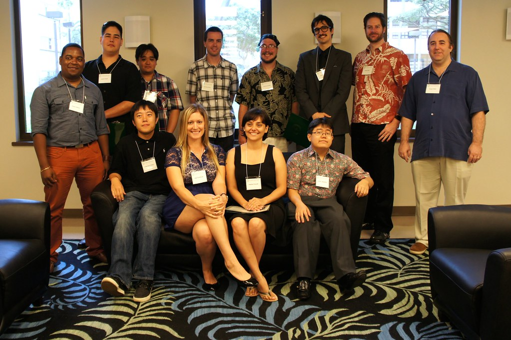 """<p>2014 spring University of Hawaii at Manoa's Information and Computer Science Program bachelors, masters and PhD graduates. Photo by Andrew Wertheimer. For more photos go to <a href=""""https://www.flickr.com/photos/andrew_wertheimer/sets/72157644543978706/"""">www.flickr.com/photos/andrew_wertheimer/sets/721576445439...</a></p>"""