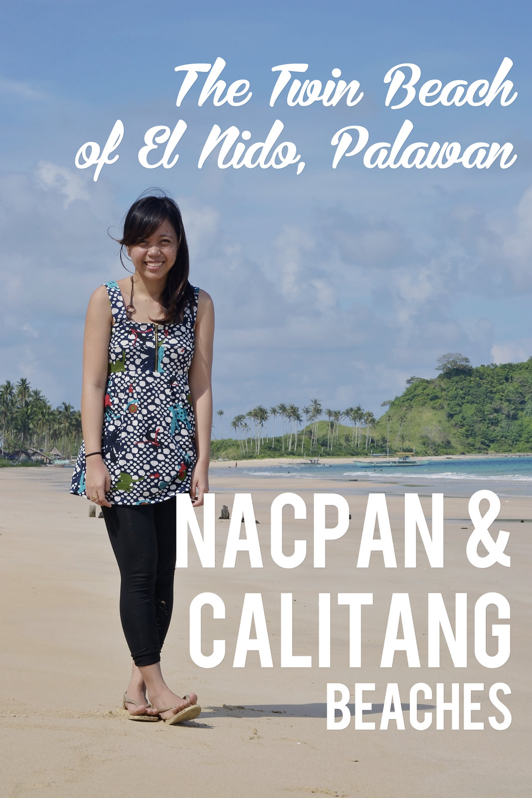 Nacpan Beach and Calitang Beach