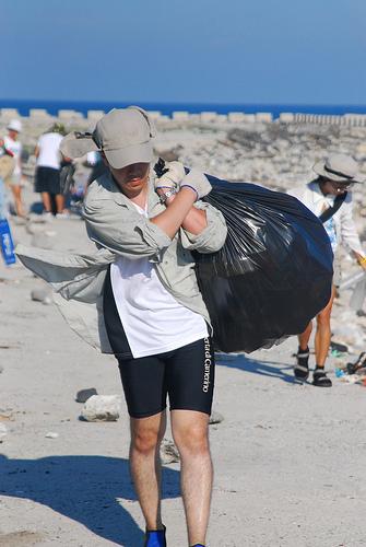2008澎湖生態工作假期淨灘行動
