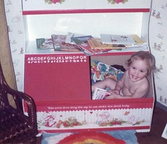 Britt-1 yr old playing in her toybox