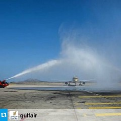 #Repost from @gulfair طيران الخليج تعلن عن اول رحلة للعاصمة اليونانية اثينا #gulfair started flight to Athens!