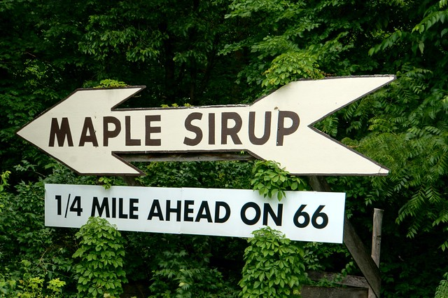 Maple Sirup - Funks Grove, Illinois