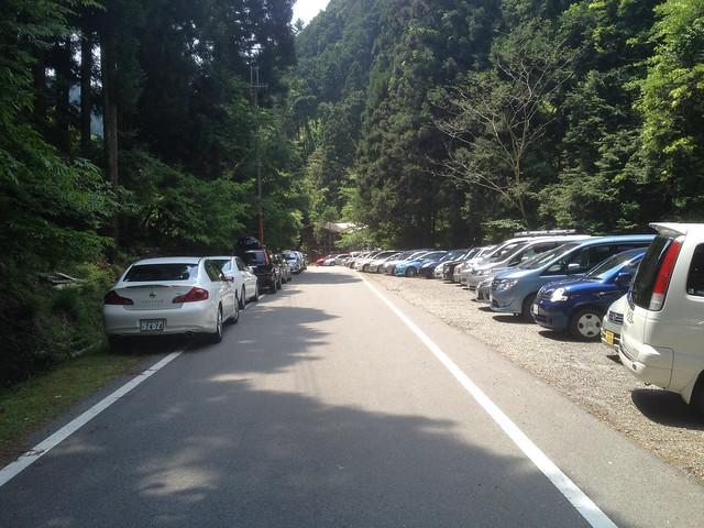 雪彦山 駐車場