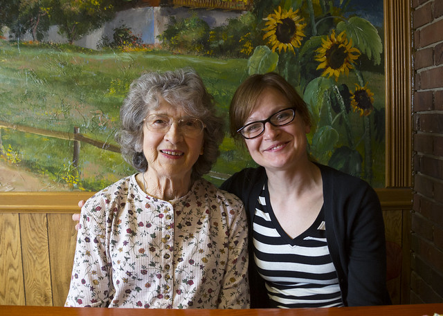Laura and Grandma