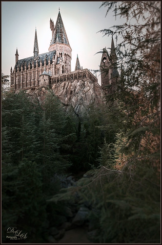 Image of Hogwarts School at Universal Studios Orlando