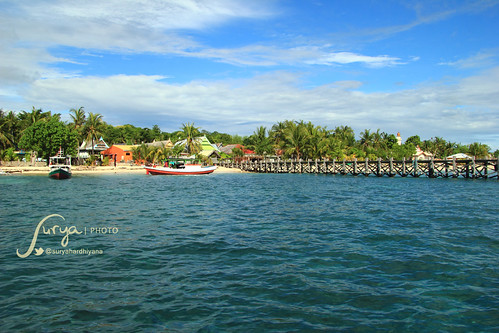 Pemandangan Pulau Liukang Loe