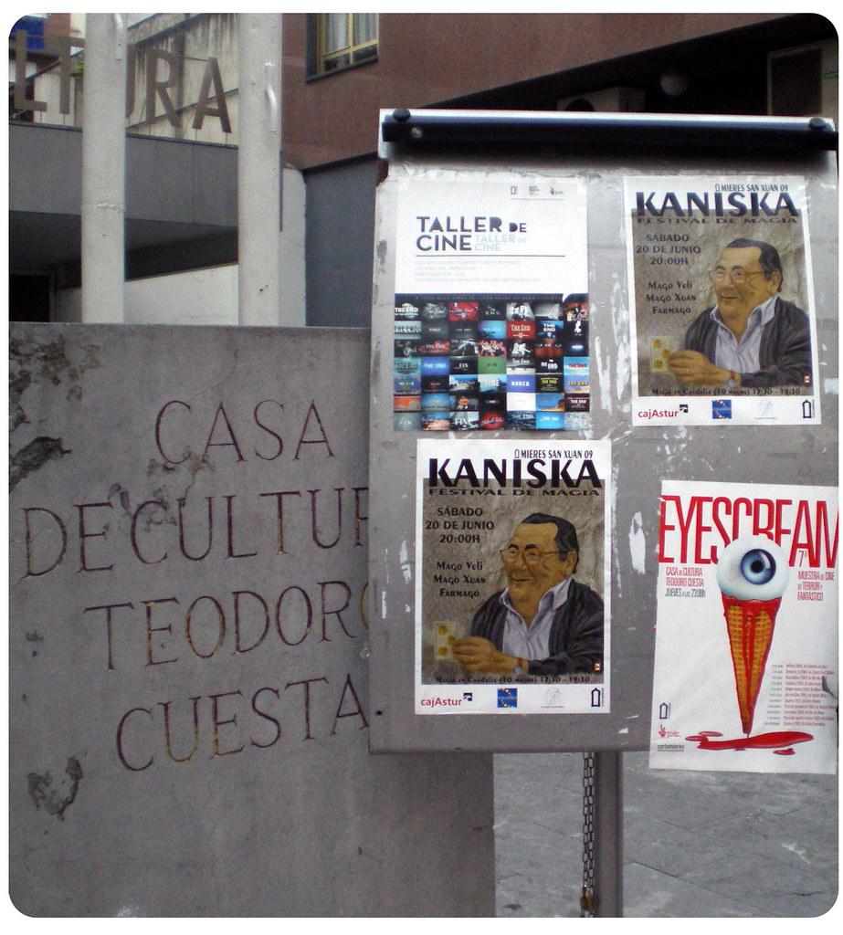 "Cartel ""Kaniska, Festival de Magia"""