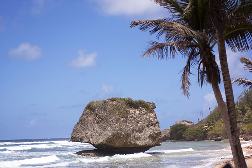 the rock @ bathsheba