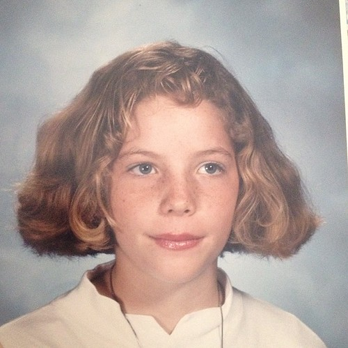 If you need a good laugh look at this photo, it's worth it and totally safe. I don't know what's worse, my hair or my lip gloss. 7th grade. #tbt