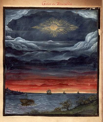 006-La luna-Gebea- en la epoca de Neron-Kometenbuch -1587-Universitätsbibliothek Kassel