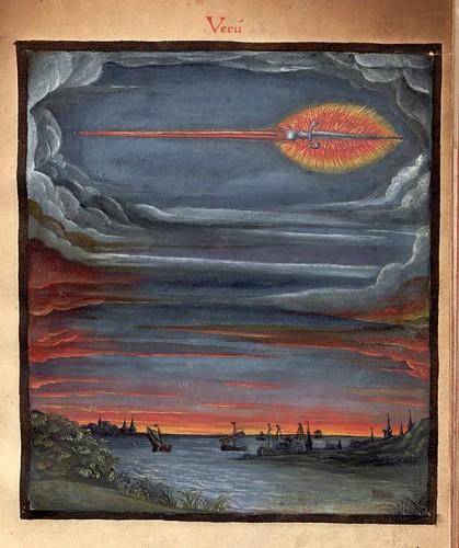 005- Un cometa en el año 69 dC-Kometenbuch -1587-Universitätsbibliothek Kassel