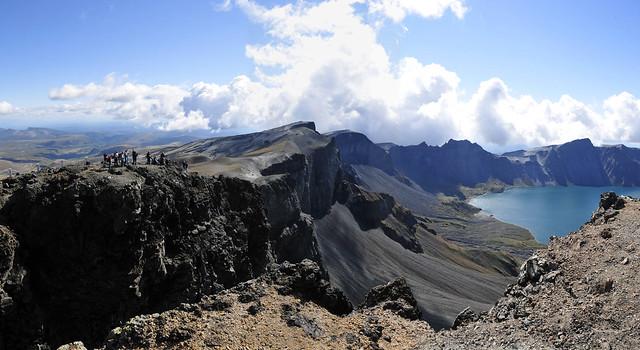 Paekdusan (Mt. Paekdu Lake Chonji)