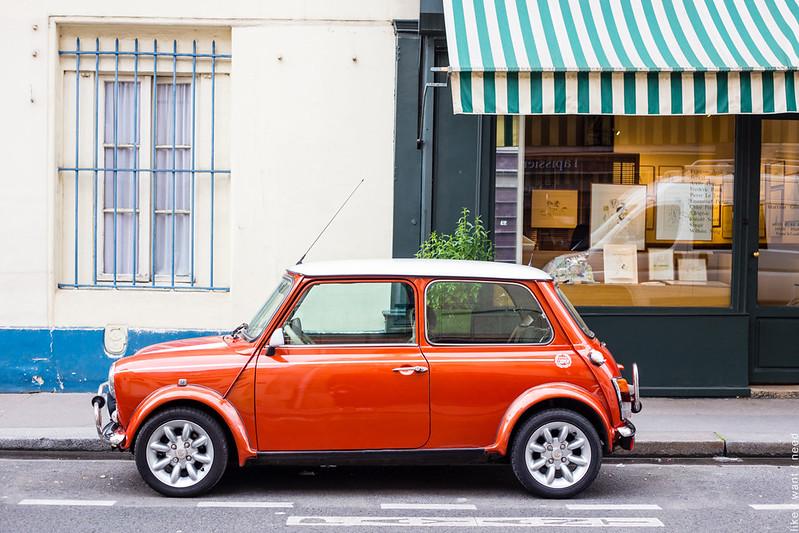 Little Orange Car