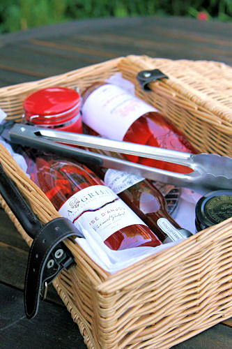 Rose wine hamper IMG_1438 R
